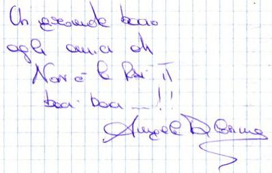 Dedica di Angela Di Cosimo