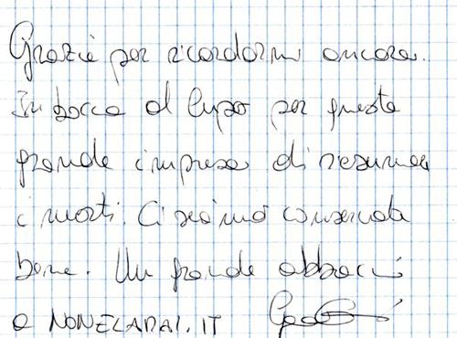 Gaia Camossi (dedica)