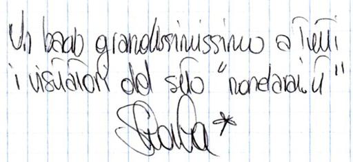 Shaila Risolo (dedica)