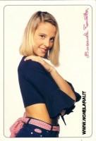Emanuela Panatta (Cartolina Cioè)