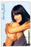 Antonella Mosetti (Cartolina Cioè)